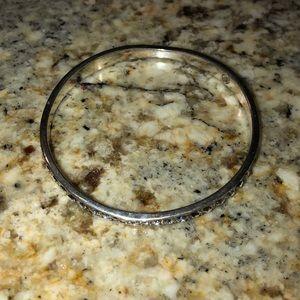Brighton rhinestone bracelet silver